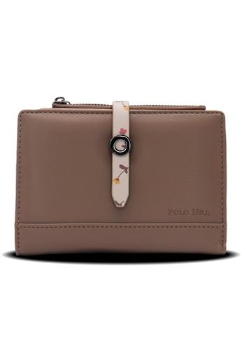 Polo Hill brown Polo Hill Ladies Short Strap Wallet 33546AC90726E2GS_1