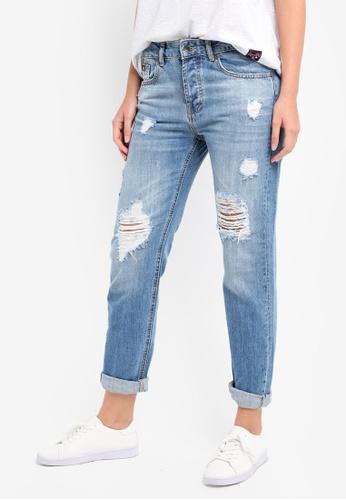 Harper Boyfriend-Jeans Superdry