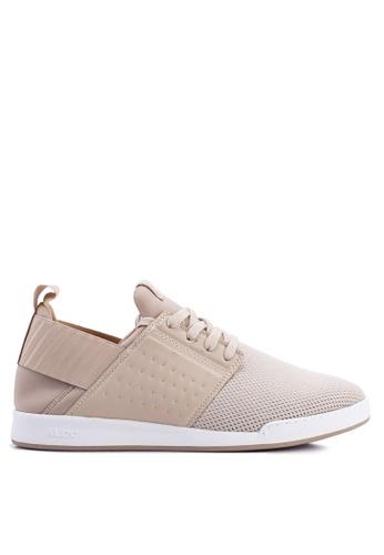 ALDO beige Lovigosien Sneakers BF6FESHBD0A7C9GS_1