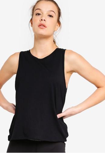 Cotton On Body black Backless Twist Tank Top 28101AABDCA83DGS_1