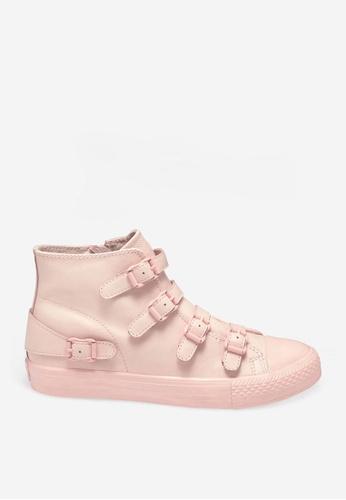 ASH 粉紅色 Venus - 粉紅色皮帶運動鞋 F1076SH5AE5E0EGS_1