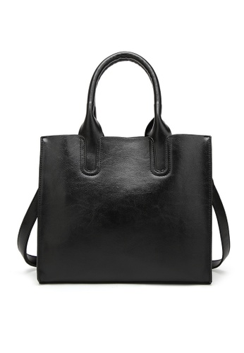 Lara black Women's Top-Handle Bag With A Strap 2C2F2AC6A2C412GS_1