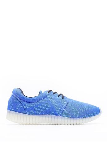 Life8 blue Mesh 3D Spring Sport Shoes-09458-Blue LI283SH45JPUSG_1