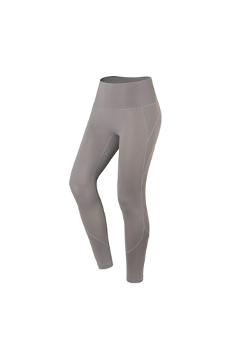 VIVIESTA SPORT grey Vital Seamless High Waist Gym Tights B5859AA53393C9GS_1