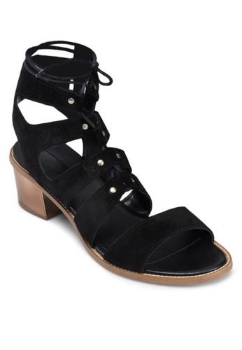Nuggezalora 折扣碼t 多帶中跟羅馬涼鞋, 女鞋, 鞋