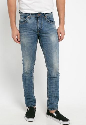 Cressida navy Basic Skinny Jeans BF71BAA26DF6AFGS_1
