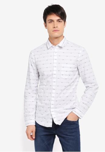 Boss Green white Baul R Shirt BO516AA0SPEXMY_1