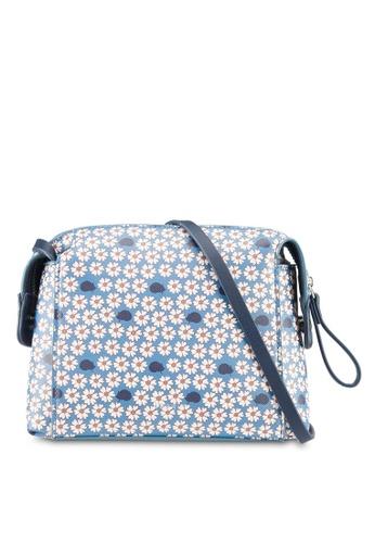 Esprit blue Shoulder Bag 06CF7AC33681EDGS_1