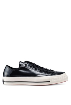 cde179d5644f9 Converse black Chuck 70 Patented 90's Ox Sneakers 7C743SHC76143AGS_1