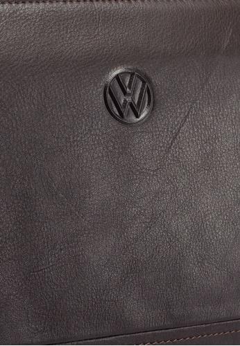 Volkswagen brown Genuine Leather Clutch Bag 41858AC6DFDEE8GS_1