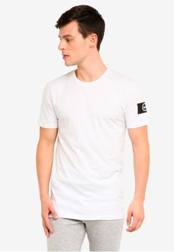 Just Hype white Insignia T-Shirt 9A3A1AAE141147GS_1