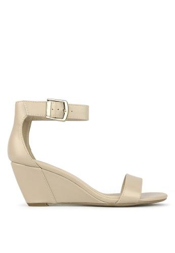 Betts beige Sonia Wedge Sandals 16C2ESHF7578A8GS_1