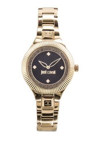 R7253215502 Just Indie 閃飾不銹鋼手錶, 錶類, 飾esprit門市品配件