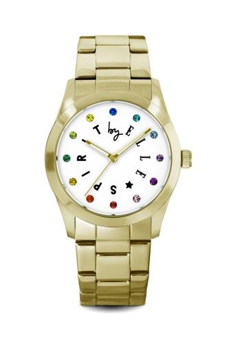 ELLE gold Fashion Ladies Watch SP241AC22LRHMY_1