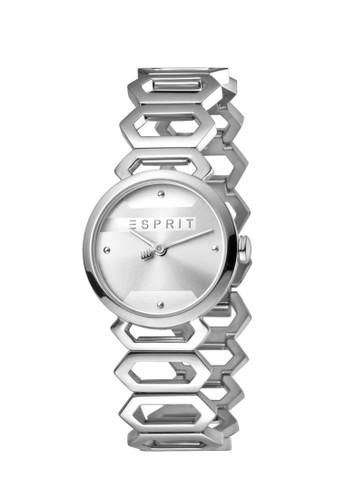 ESPRIT Watches silver ESPRIT Arc ES1L021M0015 Ladies Silver Dial Stainless Steel Watch C4BCFAC6DBDD8BGS_1
