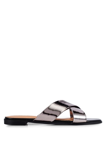 Christy Ng grey Athena Pewter Sliders CH330SH0RXPAMY_1