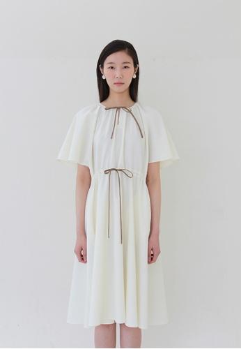 TAV Robinson 連衣裙 - 白色 12EC1AAA650BC0GS_1