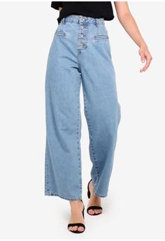 058d968f11d4c OVS blue Washed Boyfriend Jeans 0CE11AAD6AAEABGS_1