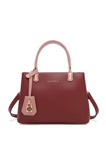 Swiss Polo red Ladies Top Handle Sling Bag C480DAC1E1F54BGS_1
