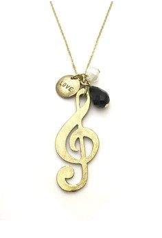 Love Music Necklace
