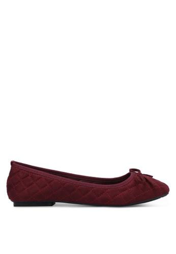 Noveni red Casual Flats NO978SH0RX2QMY_1