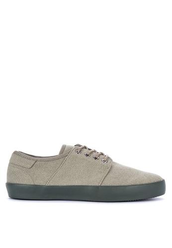 Springfield green Depor Sneakers 23637SHDC922E2GS_1