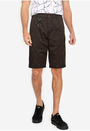 LC WAIKIKI green Slim Fit Gabardine Bermuda Shorts 61428AA42B13D0GS_1