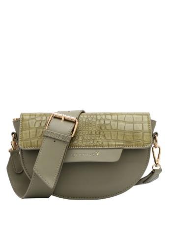 PLAYBOY BUNNY green Women's Sling Bag / Shoulder Bag / Crossbody Bag F92B9ACB42510CGS_1