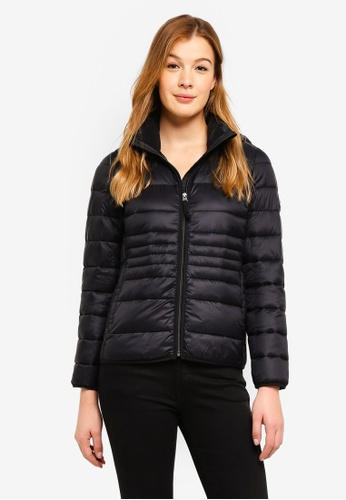 Abercrombie & Fitch black Poly Lightweight Puffer Jacket 87A89AA645A267GS_1