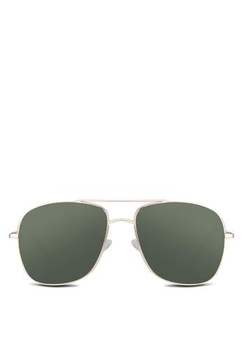 Burnham 方框太陽眼鏡, 飾品配件, zalora 衣服尺寸方框