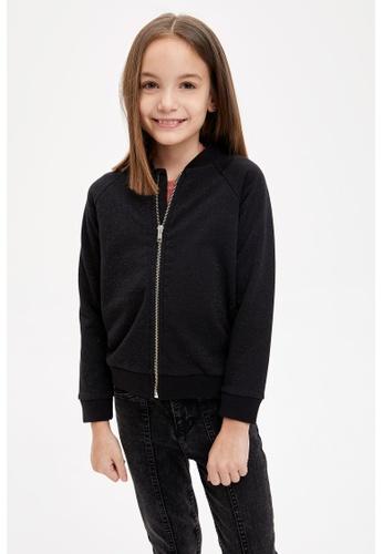 DeFacto black Girl Knitted Cardigan / Bolero EF9CCKA38E8DA4GS_1