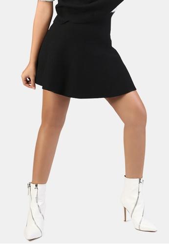 London Rag black Casual Knit Skirt C628DAA247A4C6GS_1
