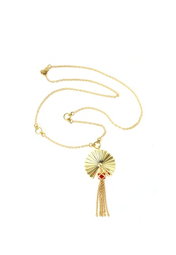 TOMEI gold TOMEI Necklace, Yellow Gold 916 (WS-YG1398N-EC) CAE60ACE931CB2GS_1