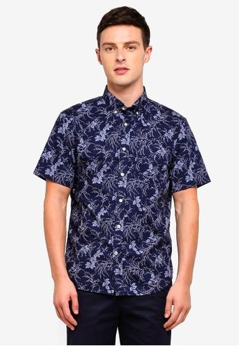 Buy Banana Republic Short Sleeve Floral Shirt Online on ZALORA Singapore 60b44fb169de8
