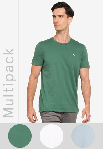 Abercrombie & Fitch multi Multipack Crew Neck T-Shirt F55ADAAA89DD03GS_1