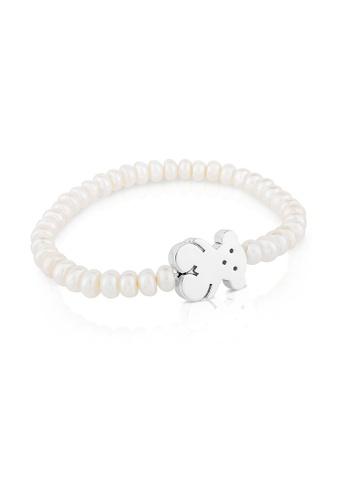 Tous white TOUS Silver Sweet Dolls Bracelet (Item Code: 615904630) 40C19AC85D143FGS_1