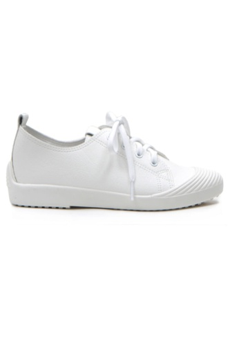 Crystal Korea Fashion white Korean New Versatile Casual Shoes DB43CSH0100B4AGS_1