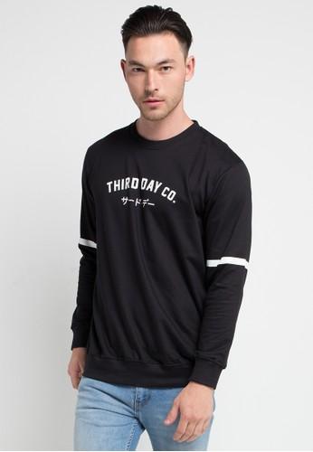 Third Day black Men Sweater Tdco Blk 67999AA38BB405GS_1