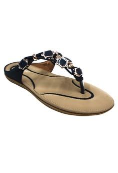 Fantasy Strappy Sandals 5566-2 (Blue)
