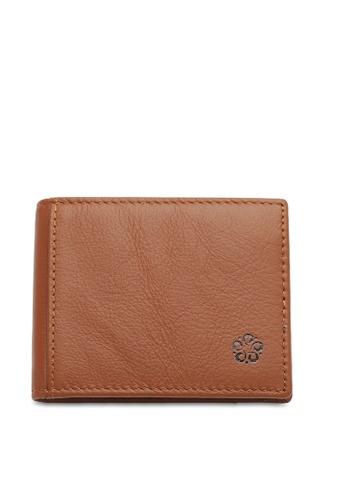 Wild Channel brown RFID Money Clip CDA5AACA95E1BEGS_1