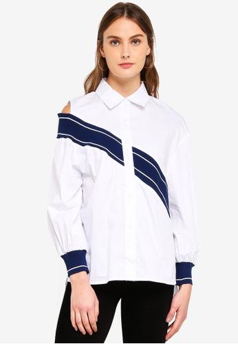 Haute Kelly white Eun-Kyung Shirt 140E2AA77F2796GS_1