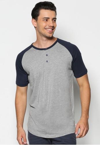 拼esprit outlet 高雄色亨利短袖TEE, 服飾, T恤