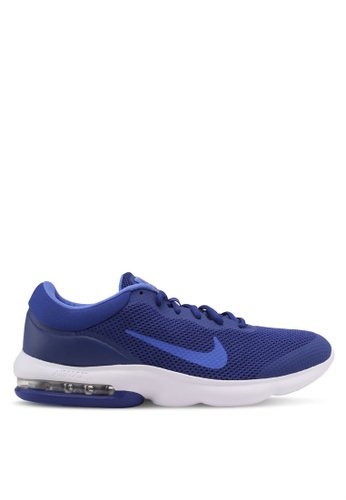 Nike blue Men's Nike Air Max Advantage Running Shoes NI126SH0KPV3PH_1