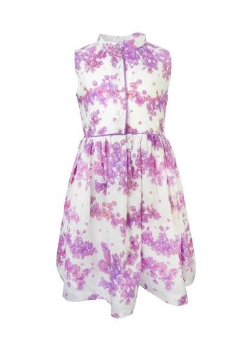 Viva Vida Kids pink Ava Dress Bougainvillea EF7E9KA6A5D0F1GS_1
