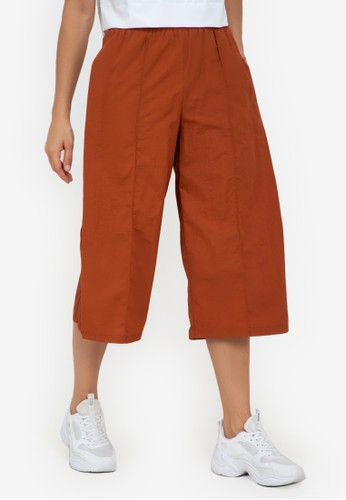 ZALORA ACTIVE brown Relaxed Fit Training Culottes 82946AAD7CA57EGS_1