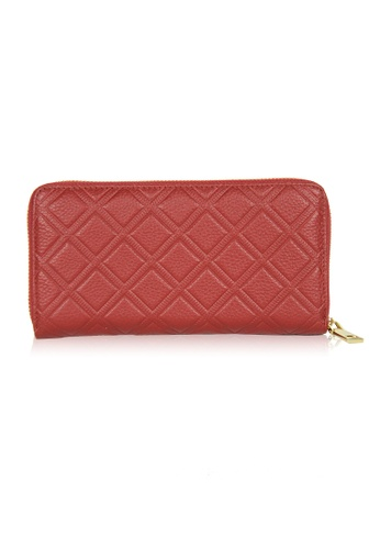 Dazz red Calf Leather Iconic Quilted Wallet - Red DA408AC0S9JYMY_1