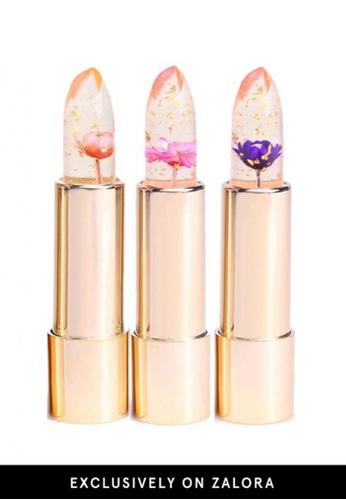 Kailijumei red and pink and purple Winter Combo Lipstick 3pcs Set KA452BE06QNXMY_1