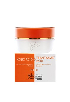 Intensive Whitening Face and Neck Cream Kojic and Tranexamic Acid with SPF 30 50g