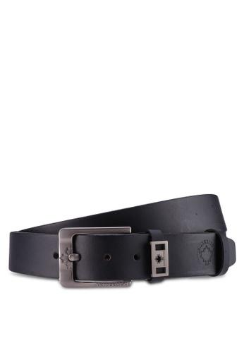 Lumberjacks black 35MM Extra Long Belt 201BDAC2E11C59GS_1