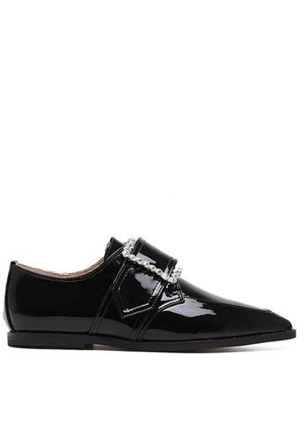 Twenty Eight Shoes black Shinny Pointy flat 1-882 TW446SH59BQEHK_1